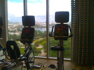 Miami condo photo - Full state-of-the-art gym with views of the city and bay