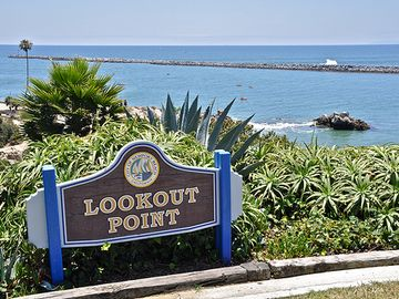 Look out Point on the way from Newport Beach to Laguna Beach