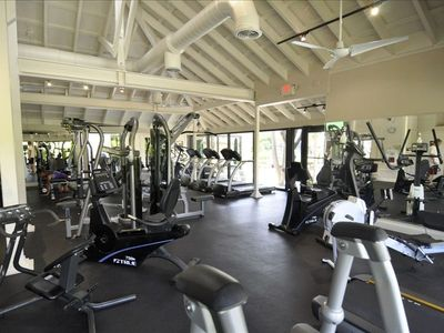 A modern fitness facility rounds out the amenities at the Boca Grande Club.
