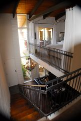 Old Town Scottsdale condo photo - Looking down from top of stairs
