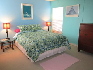 Harbor Island condo photo - Master bedroom and bath can be closed off to make a master suite.