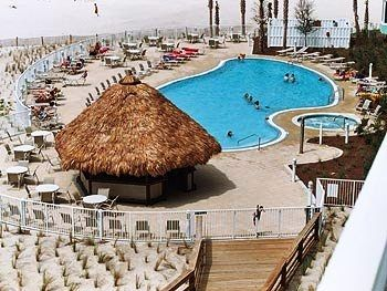 Beach Front pool, Hot Tub and Tiki Bar