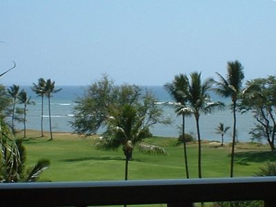 Great views from your private Lanai, Living Room, Kitchen, Dining and Bedroom