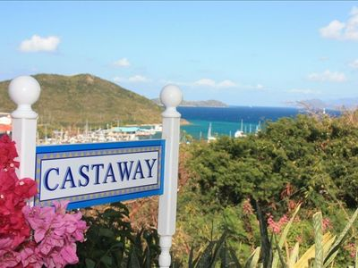 Castaway, Enjoy the spectacular view of Red Hook and the British V.I.