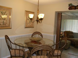 Indialantic house photo - Charming Dinette to enjoy your tropical meals!