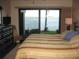 Sanibel Island condo photo - Master Bedroom view of the Bay