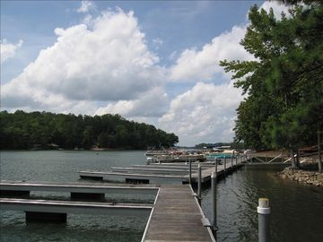 Lake Martin condo rental - Dedicated boat slip directly in front of the condo.