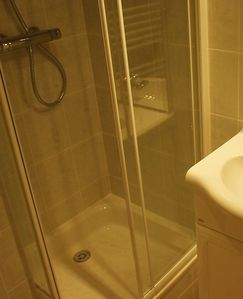Tignes Val Claret apartment rental - Flat 24 shower enclosure