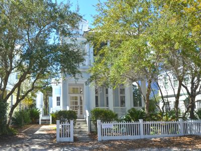 Front Exterior | This Side of Paradise | Cottage Rental Agency | Seaside, FL