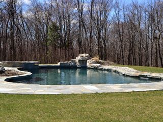 Austerlitz house photo - Gunite Pool Spa and Waterfall