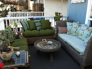 Marina del Rey condo photo - Comfortable deck for relaxing