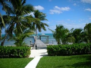 Ambergris Caye house photo - Looking Out the Back of Casa Gonzo