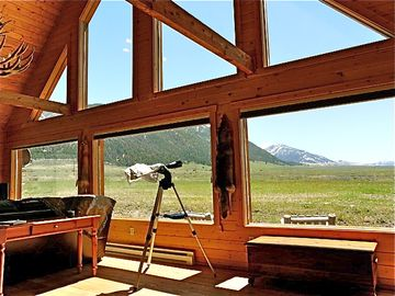 West Yellowstone cabin rental - Fantastic views from the Great Room