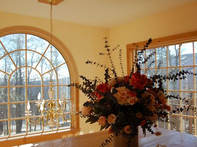 Mount Snow house rental - Views of Mount Snow and the Mount Snow Valley from Great Room