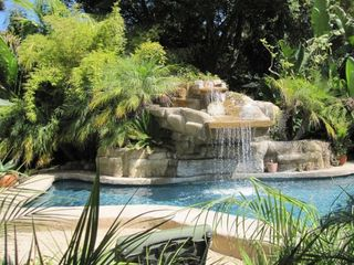 Montecito house rental - Natural Pool with water fall