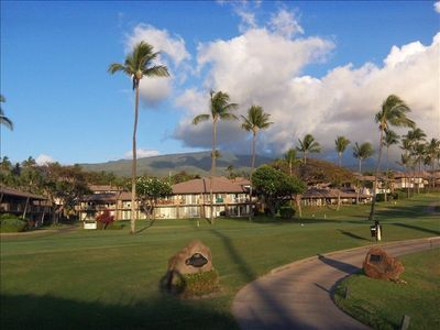 Maui Eldorado view from golf course