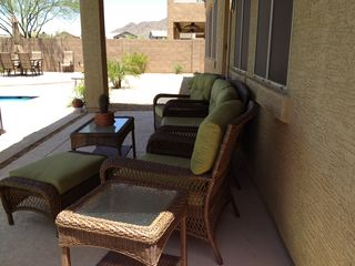 Peoria house photo - Relax and put your feet up, grab a drink, read a book, and enjoy the breeze.