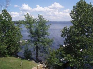 Lake Vermilion cabin photo - This is a view of Big Bay from the cabin. The view is breath-taking.