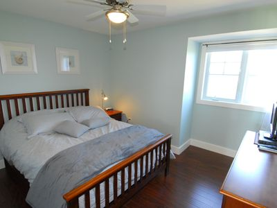 Summerside house rental - Second loft bedroom with queen size bed.