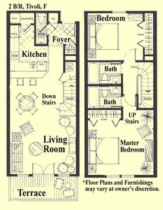 Generous room sizes offer room to spread out! Living Rm, for example is 15' X13