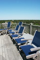 Surfside Nantucket house photo - The Roof Walk - Great place to sun - 180 degree Ocean Views - Bose Sound System