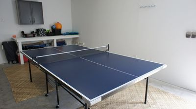 Ping Pong Table - Enjoy the Ping Pong table in the garage!
