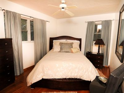 master bedroom w/all new furniture and delux mattress!