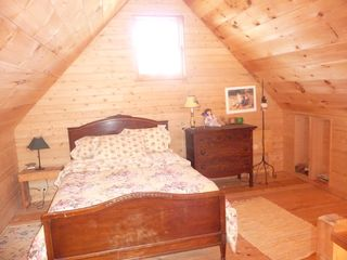 Beals - Great Wass Island cabin photo - Loft with Twin Mattress