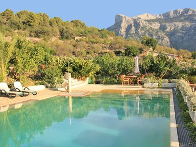 Charming cottage with lovely swimming pool on the outskirts of Soller