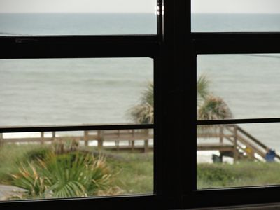 Ocean View through Master Bedroom Window