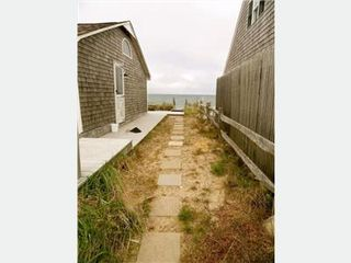 East Sandwich cottage photo - Pathway to the beach from the cottage