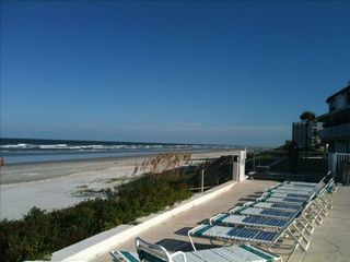 New Smyrna Beach condo photo - View from Pool.