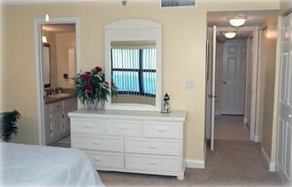 Master Bedroom offers Guests a Private Bathroom with Shower