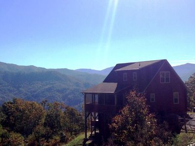 Luxurious Romantic Master Suite, Smoky Mtn. Views, 2 Fireplaces, Hot Tub!!!