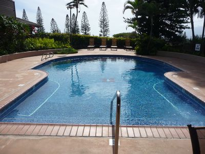 For no-sand hassle, enjoy any one of four sparkling pools onsite