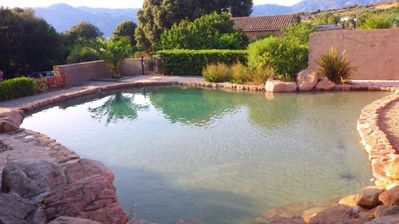 6 people Villa with pool near sea and Ajaccio