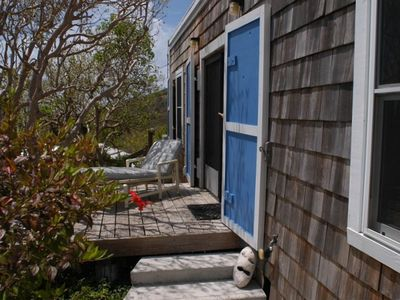 Water Island cottage rental - Exterior Suite/terrace