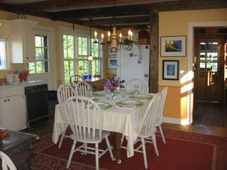 Craftsbury house photo - Kitchen Table