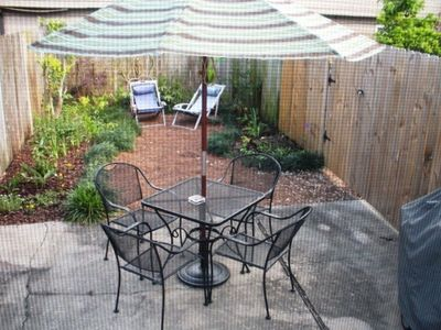 Private Garden Patio