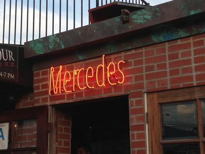 Mercedes Grill is a short walk away great Cuban fusion food