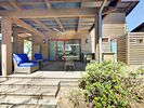 Porch - The space is perfect for a family of 4 or a couple on a romantic weekend getaway.