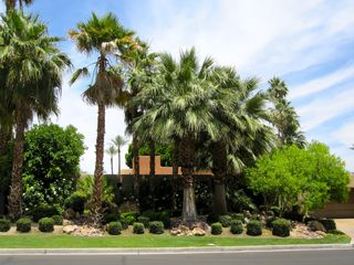 Indian Wells house photo - It's the house with the palms