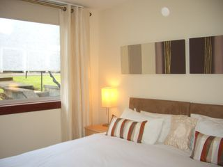 Glasgow & Clyde Valley apartment photo - Superkingsize Bed or 2 Single Beds. Your Choice.