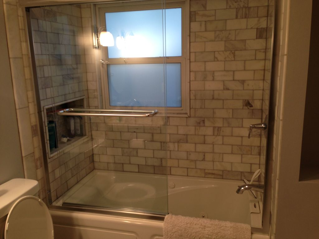 Main Bath Shower With Jetted
