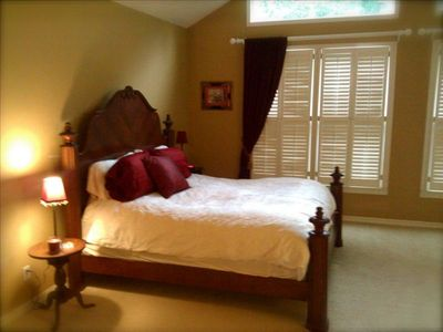 Master Bedroom - Serenity Suite