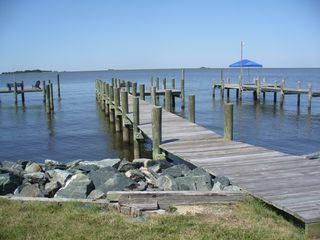 Crisfield house photo - Our private dock is just yards from the house