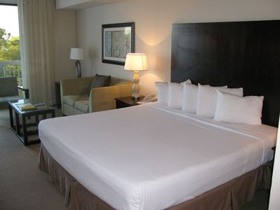 guest suite / efficiency with king size bed and twin sleeper