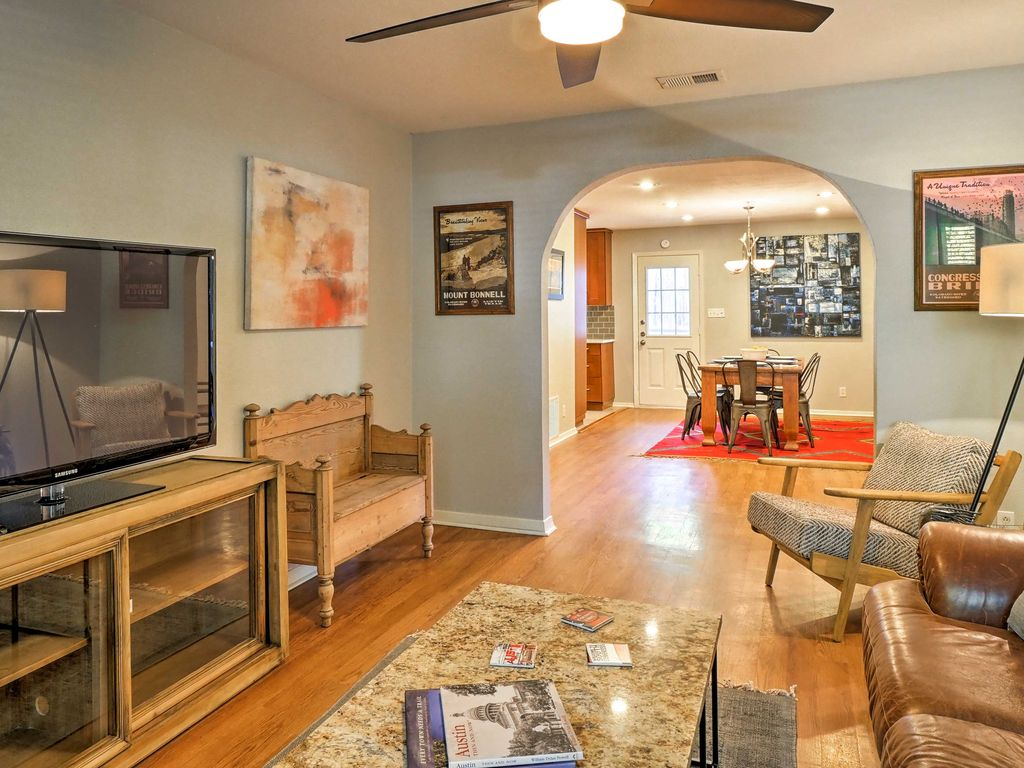 NEW! Austin Home w/Patio – 1 Mile from Zilker Park