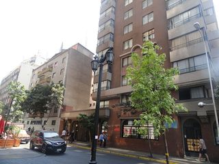 Santiago apartment photo - fachada del edificio salida calle San isidro
