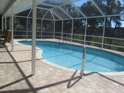 "'""Nature Coast"" at it's best!  Pool & Boat Dock"